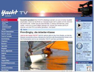 YACHT-TV 2009 - Das Finn Video  ist online !