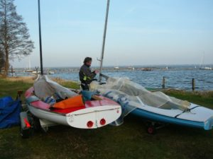 <b>Steinhuder Meer: Finn-Saisonstart 2010</b>