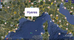43rd French Olympic Sailing Week - Hyeres - 23/29. April 2011