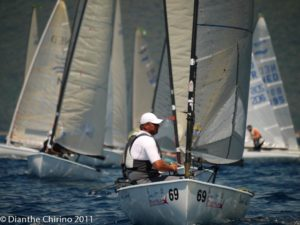 Finn World Masters 2011 - day four - Maier takes one point lead