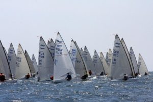 <b>Finn World Masters 2011 - day one - smiles all round</b>