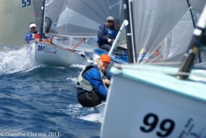 Finn World Masters 2011 - day two - Burrell and Maier keep perfect score