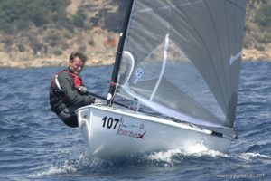 Finn World Masters 2011 - day three - very close at the top