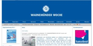 Warnemuender Woche 2011 - 08./10. Juli 2011