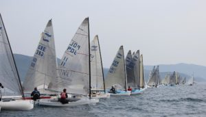 Finn EM 2012 - Tag 2 - Four hours afloat, but no racing for Finns on day two in Scarlino