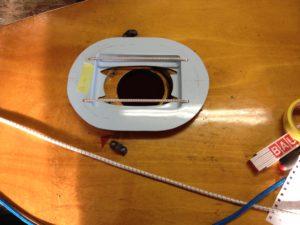 Classic-Finn: Adjustable Mastgate