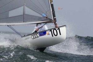 <b>Finn Gold Cup 2012 - Day 5 - Big Thursday - Bloody gnarly</b>