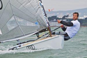 Deutsche Meisterschaft 2012 der Finn-Dinghies in Tutzing