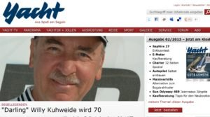 <b>Darling Willy Kuhweide wird 70</b>