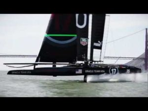 <b>ORACLE TEAM USA - Fun on Foils</b>