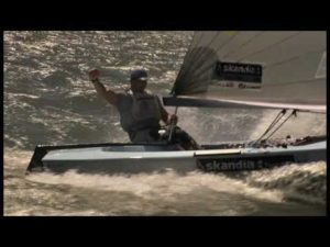 Video - 'Sailing at its best' by the Finn class