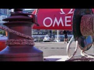 Fluegellahm - Team NZ damage wingsail in dramatic incident 2013