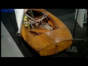 World's first FInnjolle (The Finn dinghy)