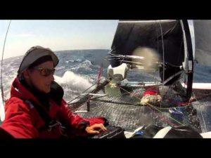 Nach Stamm nun auch ein schweizer Strandkat auf dem Atlantik in Seenot