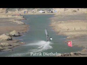 Weltrekordversuch im Speed-Kanal