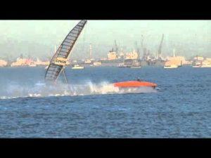 Sailrocket 2 - Neuer Weltrekord - 59,23 knots - 500 m