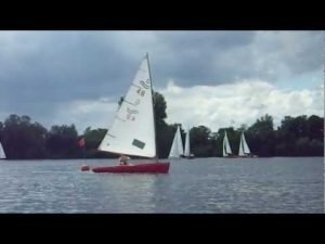 Segelreporter Carsten Kemmling im Finn bei den DSC Classics