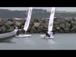 Laser Inport Race - Laser Worlds 2012 - Boltenhagen