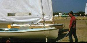 Finn-Segeln vor 40 Jahren