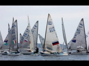 Regatta 2013 - Andrew Mills Finishes World Cup Hyeres With A Flourish