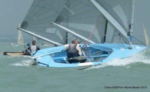 Finn Masters - La Rochelle - 21.5.2013 - 2. Tag