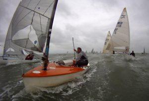 Finn Masters - La Rochelle - 20.5.13 - 1. Wettfahrttag