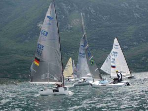 Finn Silver Cup opened at Malcesine
