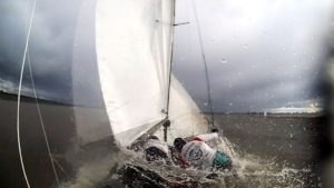 Capsizing with the Flying Dutchman - minimizing faults with the help of a MINOX video cam