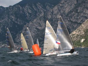 Finn Silver Cup - Malcesine - Stand nach 5 Wettfahrten