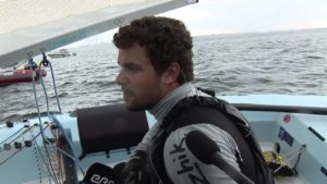 Finn - Regatta 2013 - Three races, three winners, as Jorge Zarif closes in on Finn Gold Cup win