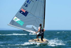 Finn Class at SWC Sail Melbourne 2013 - Photo gallery