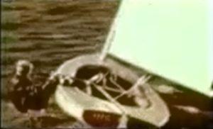 Hängen - aber richtig !  - Finn Gold Cup Karlstadt 1957