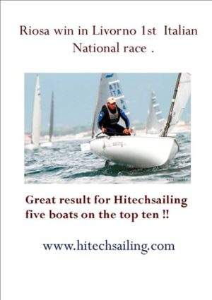 Hitechsailing - five boats on the top ten - 2014