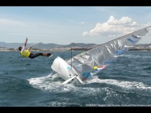 <b>Sailing World Cup Hyeres - 2014 - Finn Medal Race</b>