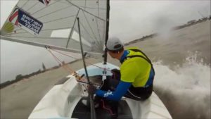 Extreme Finn Sailing Video - 2014 Finn Europeans Medal Race