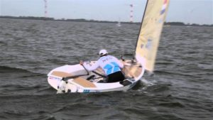 Finn - Toller Start beim Eurosaf-Event in Medemblik 2014