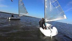 Finn Team Steinhuder Meer - Training  - 31.05.2014 - waren es 3-4 bft ?