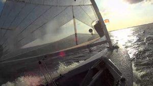 Finn Team brettert über's Steinhuder Meer - 11. Juli 2014
