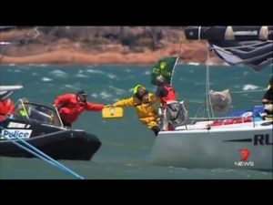 2013 Rolex Sydney Hobart Yacht Race - Sydney-Hobart fleet battered