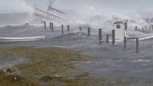 Orkan i Svendborg 28. oktober 2013