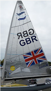 Ben Ainslie - London 2012 North sail