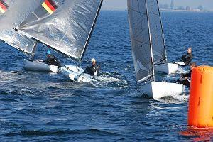 IDM Finn-Dinghy 2014 - Wismar - 1./5. Okt. 2014 - Finale