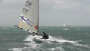 Windy Finn training in Weymouth 2014