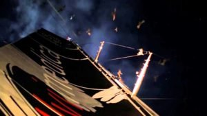 <b>Bird attack on Team Alvimedica | Volvo Ocean Race 2014-15 </b>