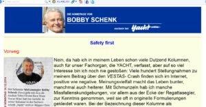 Bobby Schenks Meinung zu der Vestas-Strandung