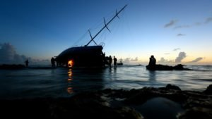 Volvo Ocean Race  2014-15 - Bergung der Vestas Wind