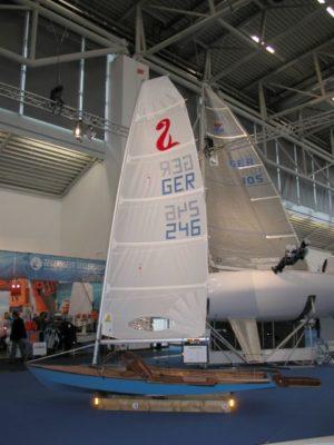 <b>Seggerling - Einmannjolle - 80 kg segelfertig</b>
