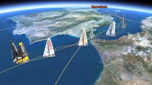 Barcelona World Race -  2015 - Day 4 mit vielen Problemen