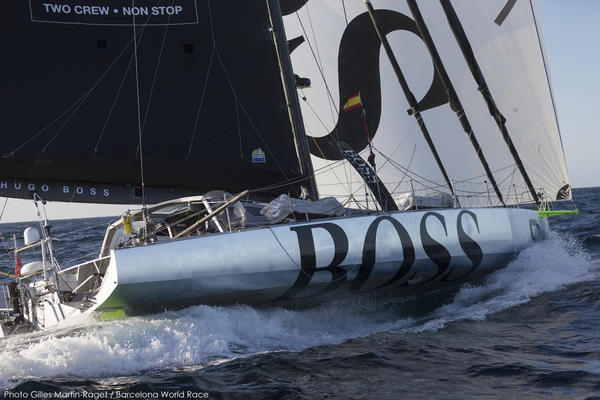 <b>Eilmeldung: Hugo Boss entmastet - Hugo Boss dismasted - 2015</b>