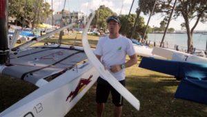 Regatta - 2014 A-Class Worlds - Nathan Outteridge Explains Foiling A-Class